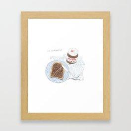 Breakfast on Sunday Framed Art Print