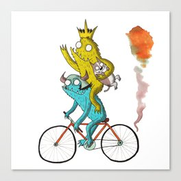 Bike Beasts Canvas Print