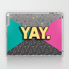 Yay. Positive Typography Message Laptop & iPad Skin