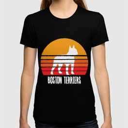 BOSTON TERRIERS SHIRT Men And Women T-shirt