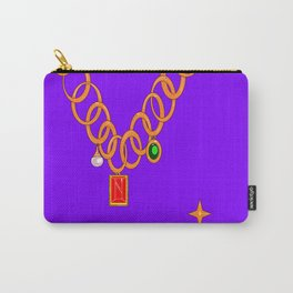 Necklace, bling, precious gems Carry-All Pouch