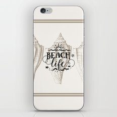 Beach life tan iPhone & iPod Skin