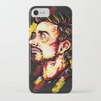 tony stark iPhone & iPod Cases featuring Tony Stark by AlysIndigo