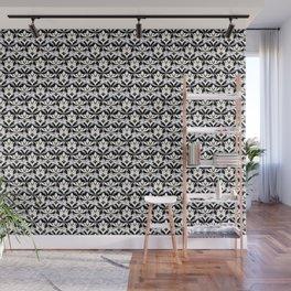 Interwoven XX - Black Wall Mural