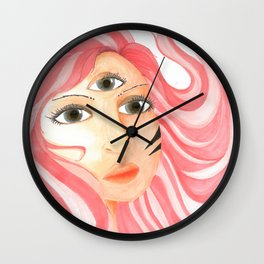 Bubblegum Prophet Wall Clock