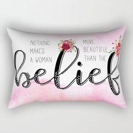 Belief Rectangular Pillow