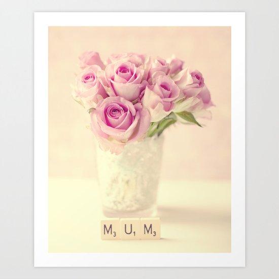 Mum Art Print