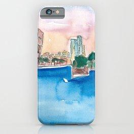 Fort Lauderdale Skyline Sunset In Florida iPhone Case