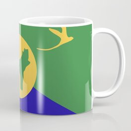 Christmas Island flag emblem Coffee Mug