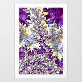 Hallucinatory Fractal Art Print