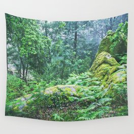 The Nature's green Wall Tapestry