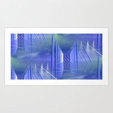 far away -2- Art Print
