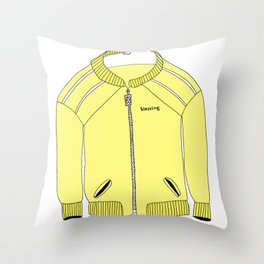 Blessing Jacket Throw Pillow