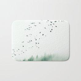 WOOD BIRDS Bath Mat