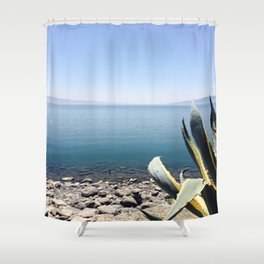 See the Sea Shower Curtain