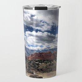 Pikes Peak in Colorado Springs Travel Mug