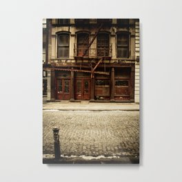 Greene Street SoHo Metal Print