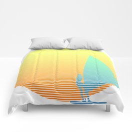 Summer Windsurfer Comforters