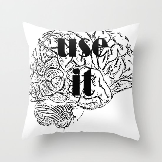 USE IT Throw Pillow
