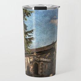 St Nicholas Church Sulham Travel Mug