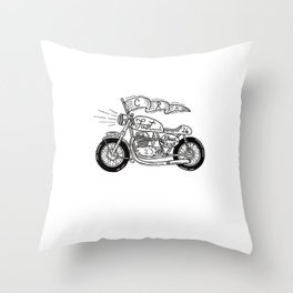 CRN CafeRacer Throw Pillow