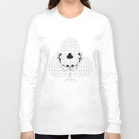 poker Long Sleeve T-shirts featuring POKER CLUBS by Noly Riv Mir