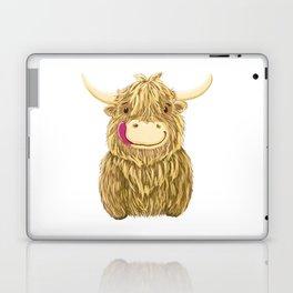 Wee Hamish Highland Cow Laptop & iPad Skin