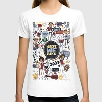 cargline T-shirts featuring WWA Poster by cargline