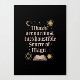 Source of Magic Canvas Print