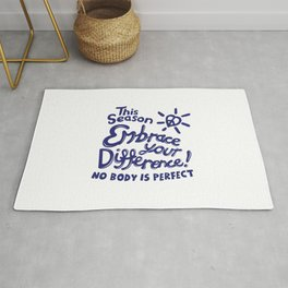 Embrace Difference Rug