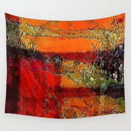 My Home Planet Wall Tapestry
