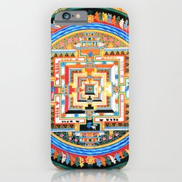 Mandala Buddhist 8 iPhone Case