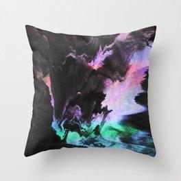 Effort to breathe Throw Pillow