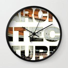 Architecture_Achitec-true Wall Clock