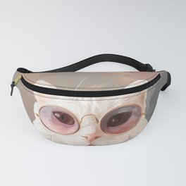 Fashion Portrait Cat Fanny Pack