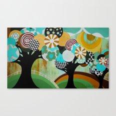 Tree Party Canvas Print
