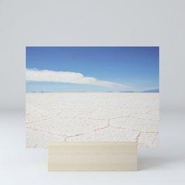 Salar de Uyuni | Bolivia travel photography | Bright and pastel colored photo print |  Mini Art Print