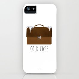 Cold Case iPhone Case