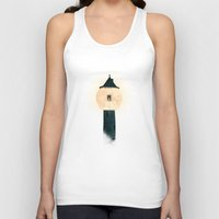 marianna Tank Tops featuring The Moon Tower by Paula Belle Flores