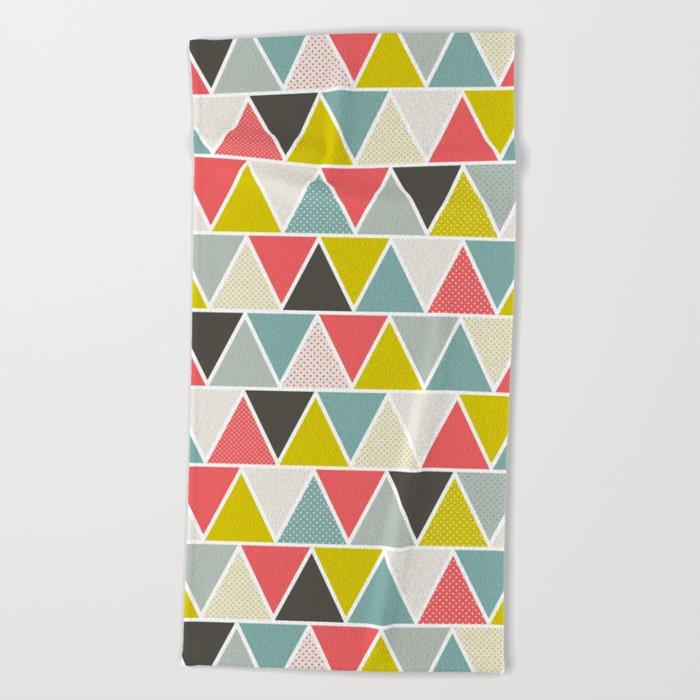 Triangulum Beach Towel