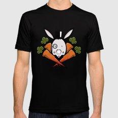 teh bunny MEDIUM Mens Fitted Tee Black