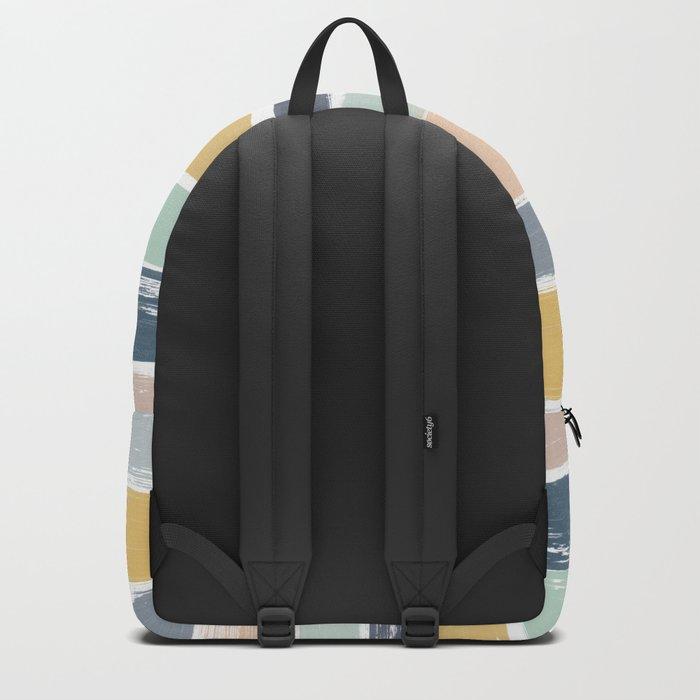 Pastel Stripes Backpack