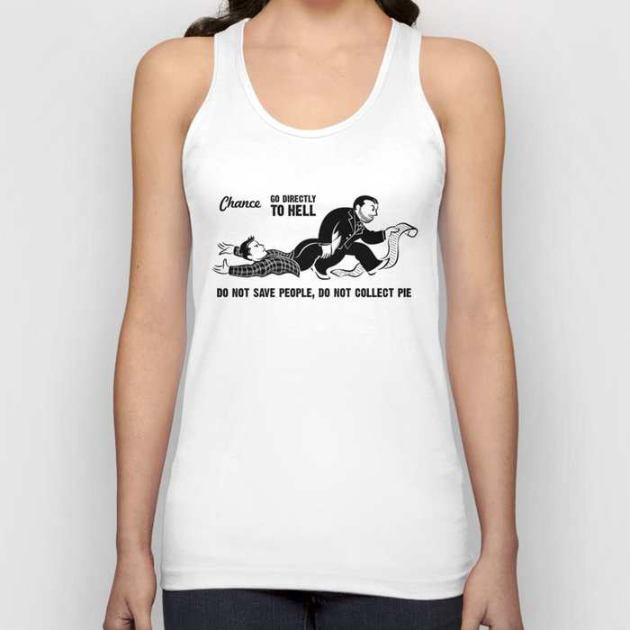 Go To Hell Unisex Tank Top