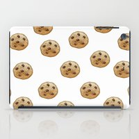 emoji iPad Cases featuring COOKIE EMOJI by FaniS