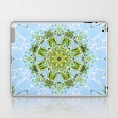 Green Cutout Mandala Laptop & iPad Skin