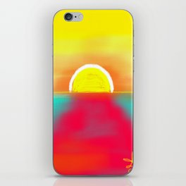 HOT SUNSET iPhone Skin