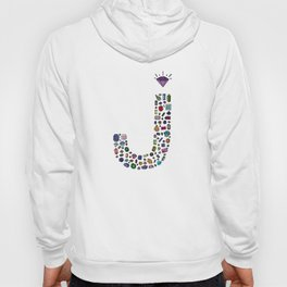letter j - jewels Hoody