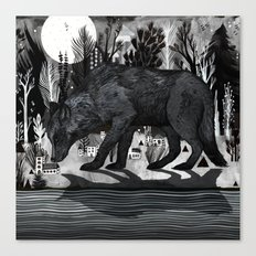 Black Shuck Canvas Print