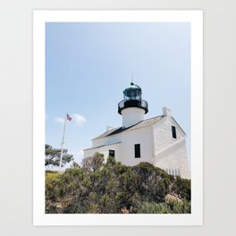 Old Point Loma Lighthouse - I Art Print