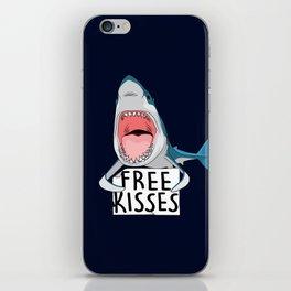 Free kisses iPhone Skin